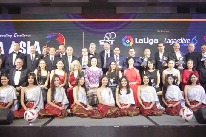 The SPIA Conference & Awards 2018 in Bangkok, Thailand. (Photo courtesy: Asian Football Confederation)