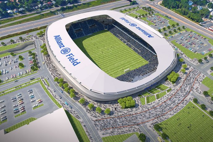 Minnesota's state-of-the-art Allianz Field. (Image courtesy: Concacaf)