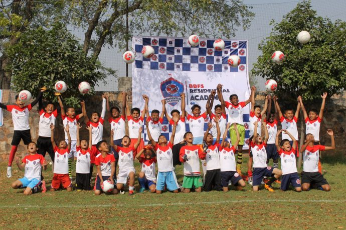 Young talents at the BBFS Residential Academy. (Photo courtesy: BBFS)