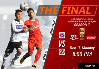 Mizoram Premier League – Season 7 final Chhinga Veng FC vs Aizawl FC set to take place on December 17 at AR Lammual in Aizawl. (Image courtesy: Mizoram Football Association)