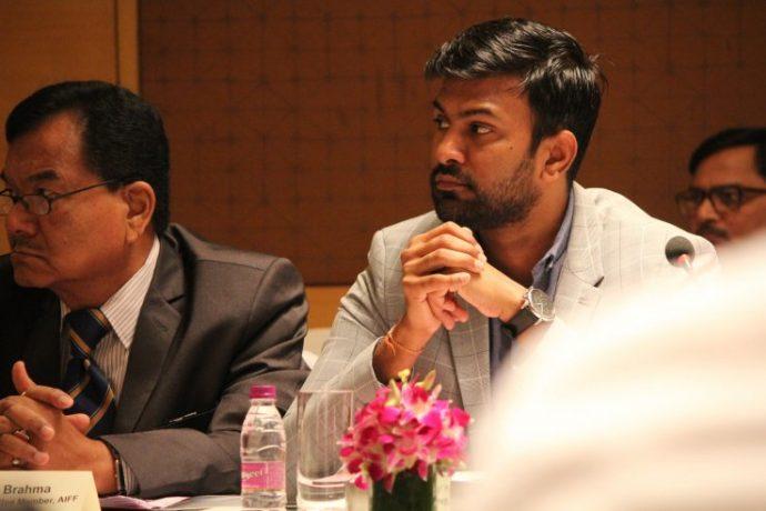 AIFF Director of National Teams and former India captain Abhishek Yadav. (Photo courtesy: AIFF Media)