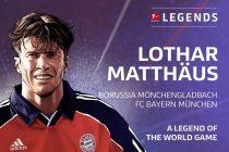 Germany and Bundesliga legends Lothar Matthäus. (Image courtesy: DFL Deutsche Fußball Liga)