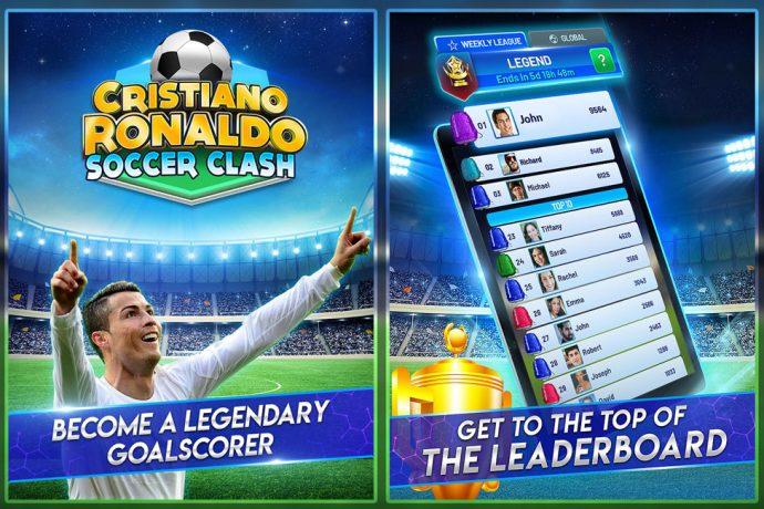 "Cristiano Ronaldo and MVP Sports launch ""Cristiano Ronaldo: Soccer Clash"". (Image courtesy: MVP Sports)"