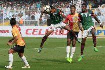 Kolkata Derby between East Bengal FC and Mohun Bagan AC. (Photo courtesy: AIFF Media)