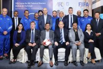 The participants of the FIFA Technical Directors' workshop in Mumbai. (Photo courtesy: AIFF Media)