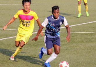 Goa Pro League match action between Bardez Football Club and Velsao Sports and Cultural Club. (Photo courtesy: Goa Football Association)