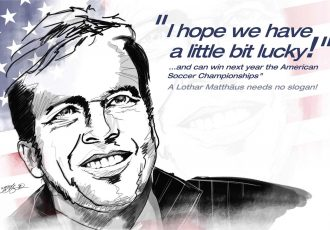 """I hope we have a little bit lucky."" - Lothar Matthäus, 1990 FIFA World Cup and Germany legend. (Image courtesy: Heldengalerie / Deutscher Fußball Botschafter e.V.)"