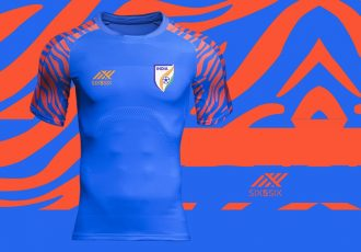 The new Indian national team home jersey by Six5Six. (Image courtesy: Six5Six)