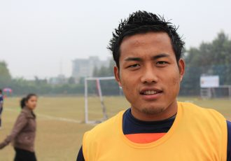 Indian national team striker Jeje Lalpekhlua. (Photo courtesy: AIFF Media)