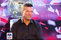 Germany legend Lothar Matthäus during an interview with Manorama News. (Photo courtesy: Screenshot - Manorama News)