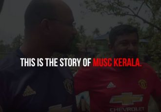 The first episode of Manchester United's exclusive video series for its 35 million Indian fans: 'Standing United' featuring MUSC Kerala members narrating their experiences and camaraderie as they became a central part of the rescue camps in Kochi during Kerala Floods. (Photo courtesy: Manchester United)