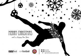 Merry Christmas & a Happy New Year from arunfoot, CPD Football and the German Football Academy (GFA).