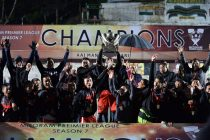Aizawl FC celebrating their Mizoram Premier League Season 7 title. (Photo courtesy: Mizoram Football Association)
