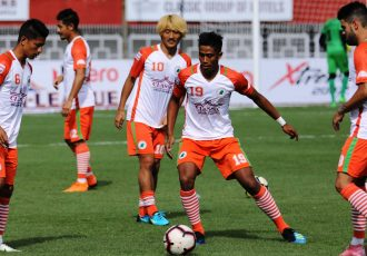 Hero I-League side NEROCA FC. (Photo courtesy: AIFF Media)