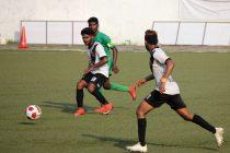 Goa Pro League match action between Salgaocar FC and Vasco SC. (Photo courtesy: Goa Football Association)