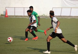 Goa Pro League match action between Salgaocar FC and Vasco SC. (Photo courtesy: Goa Football Association)