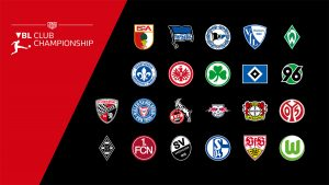 Participants of the 2018-19 VBL Club Championship. (Image courtesy: DFL Deutsche Fußball Liga)