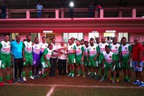 The Salgaocar FC Legends Team. (Photo courtesy: Salgaocar FC)