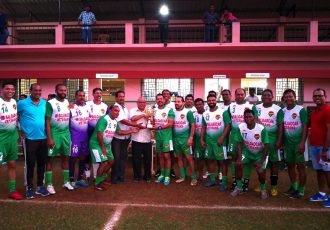 The Salgaocar FC Legends Team. (Photo courtesy: Salgaocar FC)