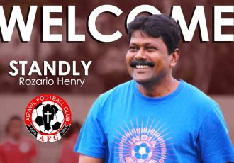 Aizawl FC welcome Stanley Rozario as their new head coach. (Image courtesy: Aizawl FC)