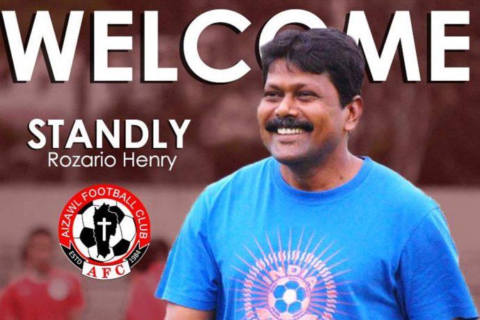 Aizawl FC welcome Stanley Rozario as their new head coach. (Image courtesy: Aizawl FC)