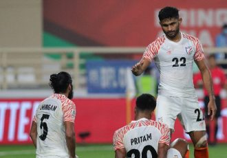 Indian national team defender Anas Edathodika at the AFC Asian Cup UAE 2019. (Photo courtesy: The Asian Football Confederation)
