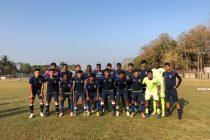 The Chennaiyin FC U-18 squad for the 2018/19 Hero Elite League Final Round. (Photo courtesy: Chennaiyin FC)
