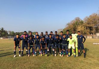 The Chennaiyin FC U-18 squad for the 2018/19 Hero Elite League Final Round. (Photo courtesy: Chennaiyin FC)