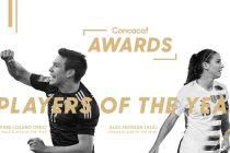 Hirving Lozano and Alex Morgan named 2018 Concacaf Players of the Year. (Image courtesy: Concacaf)