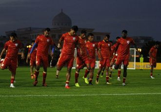 Indian national team training session ahead of the AFC Asian Cup UAE 2019 matchday. (Photo courtesy: AIFF Media)