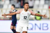 Indian national team striker Jeje Lalpekhlua. (Photo courtesy: The Asian Football Confederation)