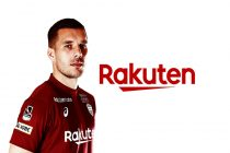 Rakuten announces new partnership with Lukas Podolski. (Photo courtesy: Rakuten)
