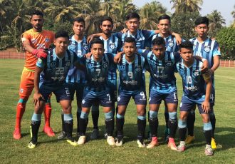 Minerva Punjab FC U-18 team. (Photo courtesy: Minerva Punjab FC)