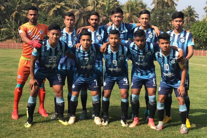 Minerva Punjab FC U-18 team. (Photo courtesy: Minerva Punjab FC)