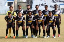 The Mohammedan Sporting Club team ahead of a Hero 2nd Division League match. (Photo courtesy: Mohammedan Sporting Club)