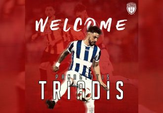 NorthEast United welcome attacking midfielder Panagiotis Triadis to the club. (Image courtesy: NorthEast United FC)