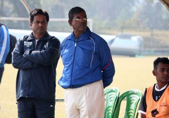 Mohammedan Sporting manager Raghunath Nandy. (Photo courtesy: Mohammedan Sporting Club)