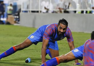India national team defender Sandesh Jhingan. (Photo courtesy: AIFF Media)