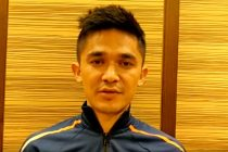 India icon Sunil Chhetri calls for fan support. (Photo courtesy: Video Screenshot - AIFF Media)