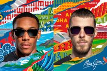 Manchester United stars Anthony Martial and David De Gea model Maui Jim eyewear. (Photo courtesy: Manchester United / Business Wire)