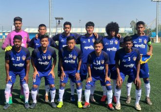 The Chennaiyin FC B Team. (Photo courtesy: Chennaiyin FC)