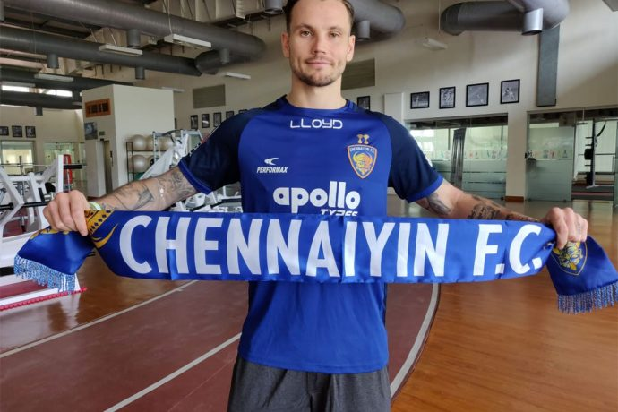 Chennaiyin FC's new versatile Australian signing Christopher Herd. (Photo courtesy: Chennaiyin FC)