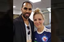 Chris Punnakkattu Daniel and Svenja Huth. (© CPD Football)