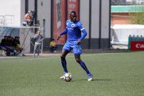 Mohammedan Sporting's Ivorian striker Desmos Arthur Kouassi. (Photo courtesy: Mohammedan Sporting Club)