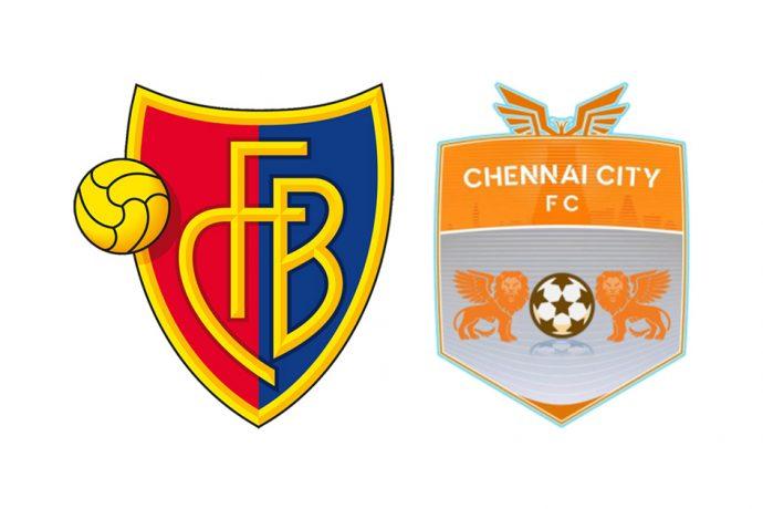FC Basel and Chennai City FC announce a club partnership.