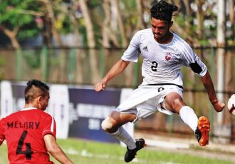 Hero Elite League match action between FC Pune City U-18 and Aizawl FC U-18. (Photo courtesy: AIFF Media)