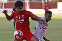 Hero I-League match action between Churchill Brothers SC and Mohun Bagan AC. (Photo courtesy: AIFF Media)