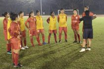 Indian Women's national team training session. (Photo courtesy: AIFF Media)