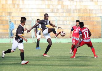 Hero 2nd Division League match action between Mohammedan Sporting Club and Jamshedpur FC. (Photo courtesy: Mohammedan Sporting Club)