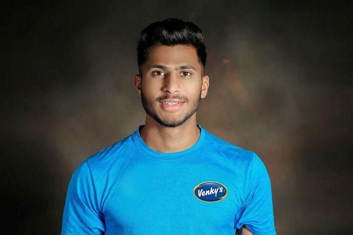 India U-17 World Cupper Aniket Jadhav. (Photo courtesy: VH Group)